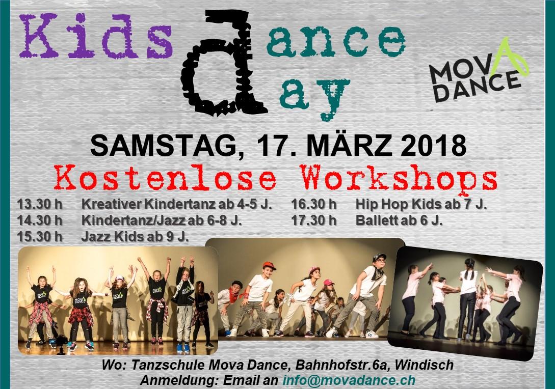 1. Free Kids Dance Day !!!!!